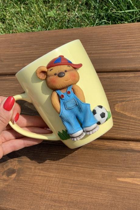 gift for boy cute mug, cup for teddy bear, mama bear cup, cup turner, perconalized mugs, espresso cup, unicorn mug